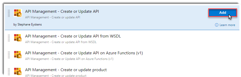 Continous delivery to Azure API Management using Azure